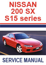 Nissan 200sx/Silvia S15 Workshop Service Manual