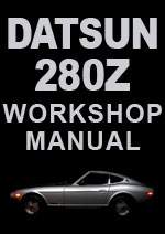 Datsun 280Z S30 Series 1975-1978/79 Workshop Repair Manuals