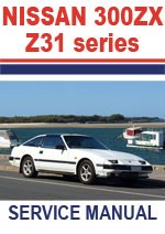 Nissan 300ZX Z31 Workshop Manual