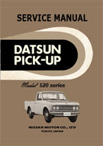 1965-68 Datsun Pick Up 520 series Service Repair Manual