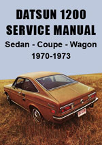 Datsun 1200 Workshop Manual
