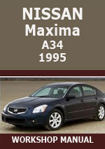 Nissan Maxima A34 1995 Workshop Repair Manual