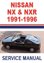 Nissan NX/NX-R Coupe B13 Workshop Manual