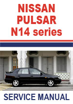 Nissan Pulsar N14 Workshop Repair Manual