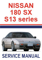 Nissan 180SX S13 Workshop Repair Manual